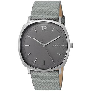 Skagen Men's SKW6381 'Rungsted' Grey Nylon and Leather Watch