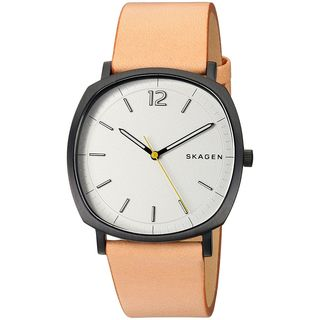 Skagen Men's SKW6379 'Rungsted' Brown Leather Watch