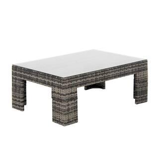 Madison Park Lenox Dark Grey Outdoor Coffee Table