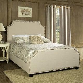 Crosley Furniture Brooks Creme King Bed