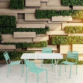 INK+IVY Tinley White Outdoor Rectangular Dining Table