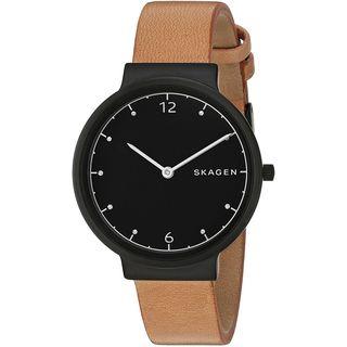 Skagen Women's SKW2609 'Ancher' Brown Leather Watch