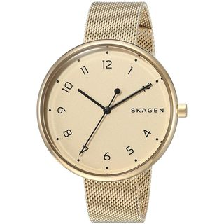 Skagen Women's SKW2625 'Signatur' Gold-Tone Stainless Steel Watch