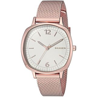 Skagen Women's SKW2629 'Rungsted Mini' Rose-Tone Stainless Steel Watch