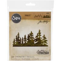 Sizzix Thinlits Dies By Tim Holtz-Tree Line