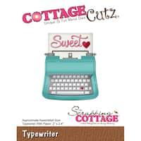 CottageCutz Die-Typewriter, 2X2.4