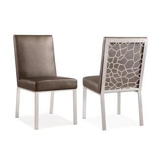 Aria Bronze Velvet Side Chair