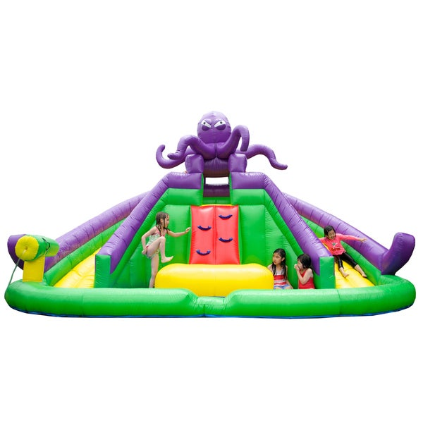 Inflatable Slide Rental Jacksonville Fl: Shop JumpOrange Jump N' Slide Bounce House