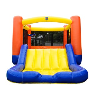 Link to JumpOrange OJ Inflatable Combo, Commercial PVC Vinyl, with Blower Similar Items in Outdoor Play