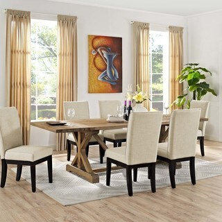 Modway Den Wood Dining Table