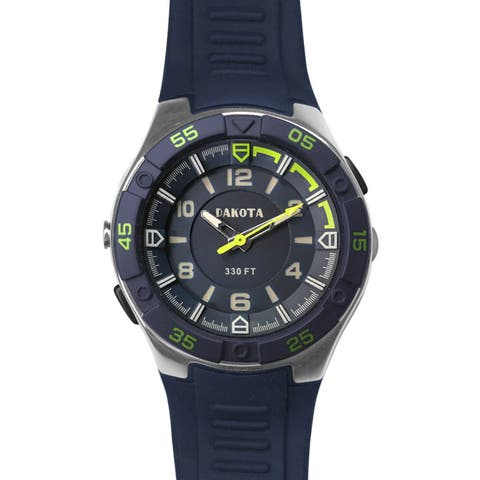Dakota Men's Lightweight EL Flashlight Watch