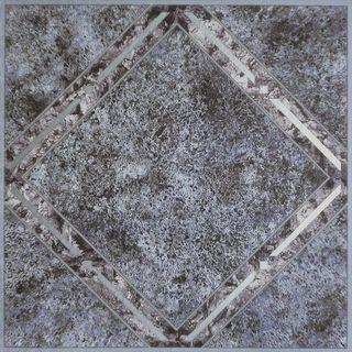 Achim Tivoli Metallic Marble Diamond 12x12 Self Adhesive Vinyl Floor Tile - 45 Tiles/45 sq. ft.