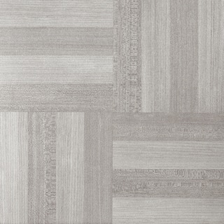 Tivoli Ash Grey Wood 12x12 Self Adhesive Vinyl Floor Tile