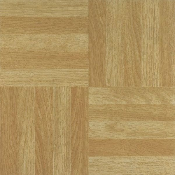 Shop Achim Tivoli Four Finger Square Parquet 12x12 Self Adhesive