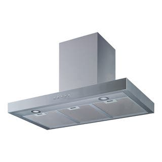 """Winflo O-W104A30 30"""" Wall Mount Stainless Steel Convertible Ducted/Ductless Kitchen Range Hood