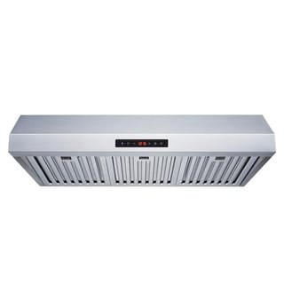"""Winflo O-W111B30 30"""" Stainless Steel Ducted Under Cabinet Range Hood"""