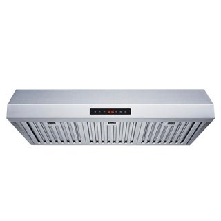 "Winflo O-W111B30 30"" Stainless Steel Ducted Under Cabinet Range Hood"