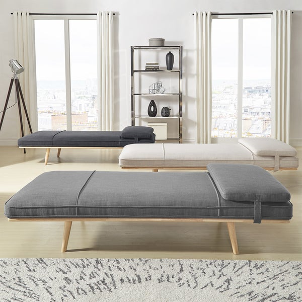 647d52bb Shop Chiyo Chaise Lounge Oversize Bench with Pillow iNSPIRE Q Modern ...