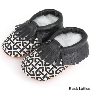 Augusta Baby Children's Genuine Leather Fringe Soft Sole Booties (More options available)