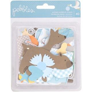 Lullaby Ephemera Cardstock Die-Cuts 40/Pkg-Baby Boy
