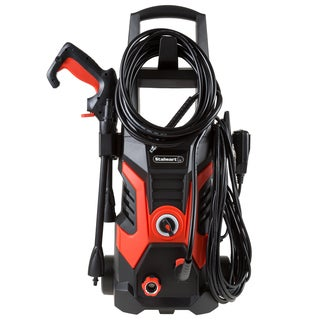 Pressure Washer Electric Powered By Stalwart (Power Washer For Cleaning Driveways, Patios, Decks, Cars and More)