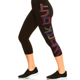 Women's Moisture Wicking Work Out Capri (Regular and Plus)