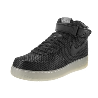 Nike Men's Air Force 1 Mid '07 LV8 Black Textile Basketball Shoes