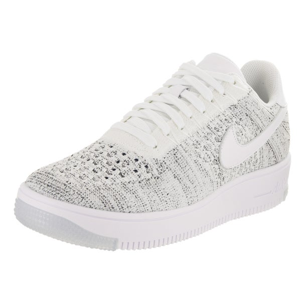 reputable site b1a90 6445f Nike Women  x27 s AF1 Flyknit Low Casual Shoe