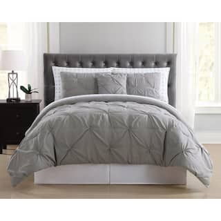 truly soft pinch pleat 8 piece bed in a bag with arrows printed sheets - Bedding In A Bag