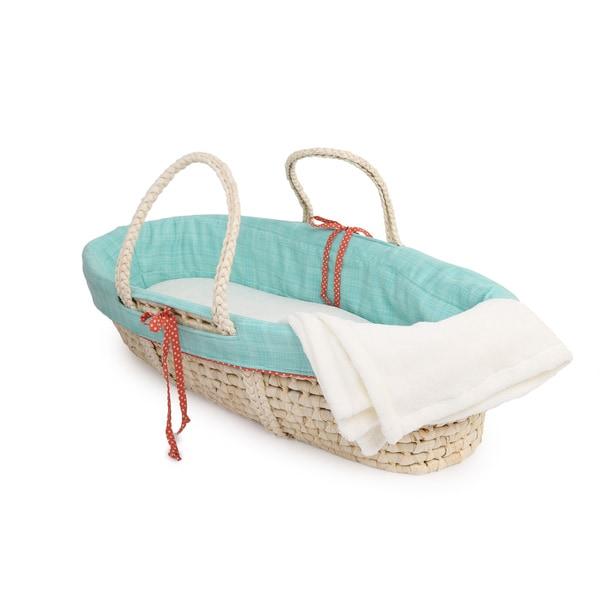 Cotton Tale Jungle Scribbles Moses Basket