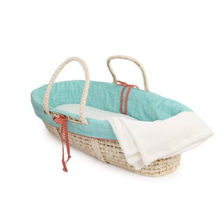 Cotton Tale Jungle Scribbles Moses Basket