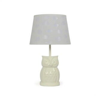 The Peanut Shell Owl Cloud Cutout Lamp