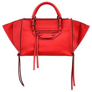 Mellow World Kailyn Small Red Convertible Satchel/Crossbody Handbag
