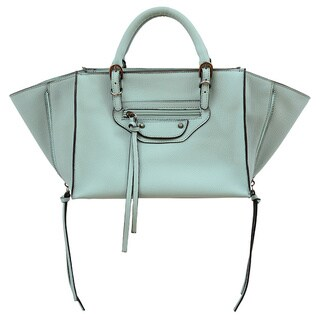 Mellow World Kailyn Small Seafoam Convertible Satchel/Crossbody Handbag