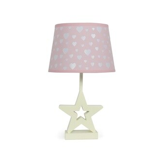The Peanut Shell Star Peek A Boo Heart Lamp