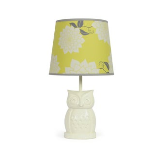 The Peanut Shell Owl Stella Lamp