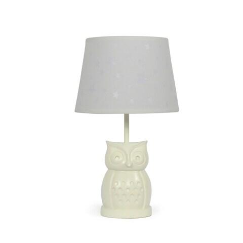 The Peanut Shell Owl Starlight Lamp