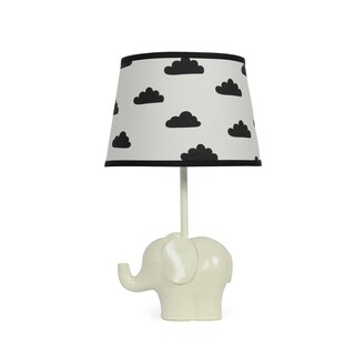 The Peanut Shell Elephant Black Cloud Lamp