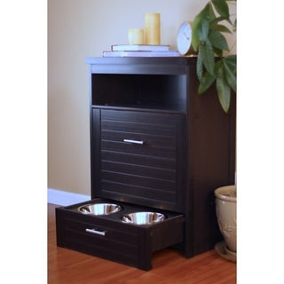 ecoFLEX Dog Food Pantry/Double Dog Bowl