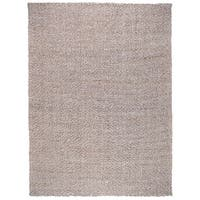 Kosas Home Everett Hand-Loomed Silver and Bleached Jute Rug - 2' x 3'