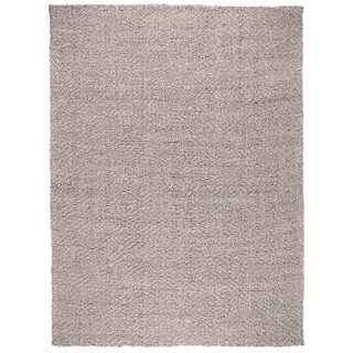 Kosas Home Everett Hand-Loomed Silver and Bleached Jute Rug (2' x 3')