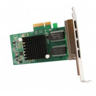 IOCrest 4-port Gigabit Ethernet Intel i350-AM4 Chipset PCI-E X4 Network Interface Card