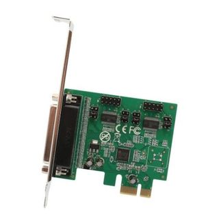IOCrest 2-port DB9 Serial and 1-port DB25 Parallel Printer PCI-Express 2.0 x1 Combo Card