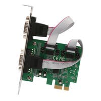 IOCrest 2-port DB9 Serial RS-232 PCI-Express x1 Card