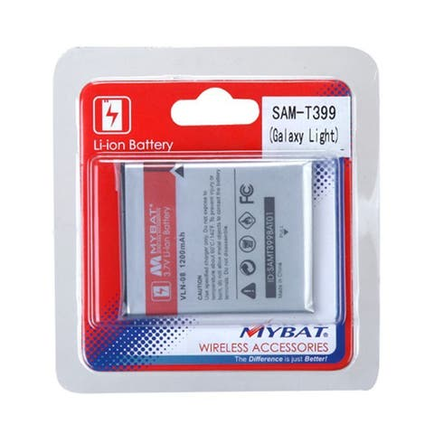 Insten Li-ion Galaxy Light Cell Phone Battery For Samsung T399