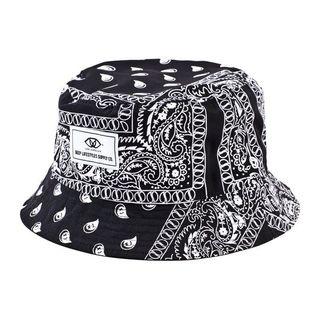 Deep Lifestyles Unisex Women Men Paisley Print Reversible Bucket Hat