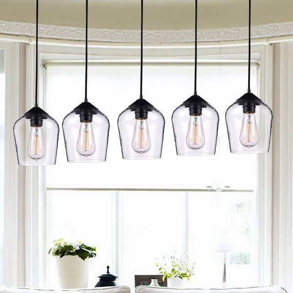 in lindsey screw pendant shop globe heads adelman branching black lamp bubble cafe light modern chandelier for kitchen glass product cloth