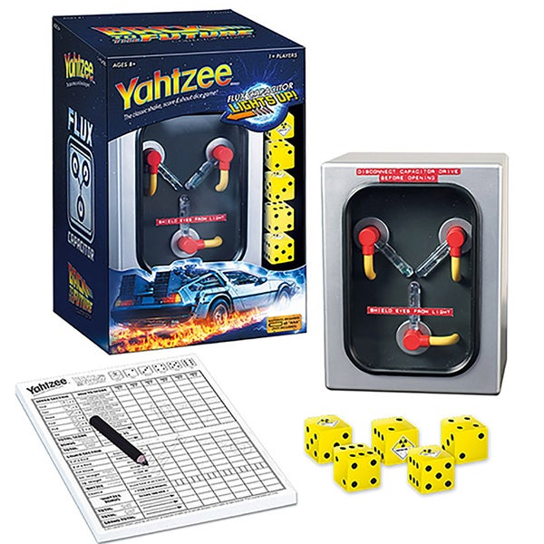 USAopoly Yahtzee Game - Back To The Future
