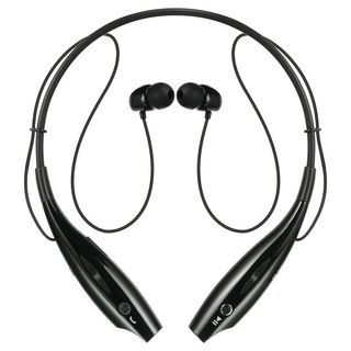 Insten BlackSport Neckband Bluetooth Headset with Built-in Microphone