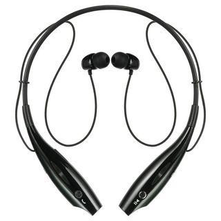 Insten BlackSport Neckband Bluetooth Headset with Built-in Microphone